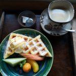 【福岡】うきは市の陶器と景色が美しい古民家カフェ『日月窯』