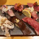 【福岡】どの料理も味間違いなし!肉や一ノ剱の肉寿司夜ランチが絶品!!